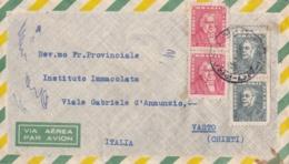 BRESIL  :  Divers Sur Lettre Par Avion Pour L'Italie - Lettres & Documents