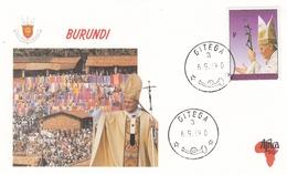 FDC BURUNDI 1714,popes (f) - Burundi