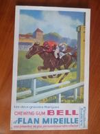 Buvard  Chewing-gum  BELL Et Flan Mireille  N° 90 - Buvards, Protège-cahiers Illustrés