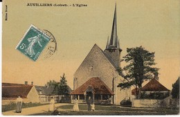 Auvilliers L'église - France