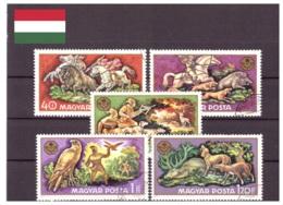 Hongrie 1971 - Oblitéré - Chasse - Michel Nr. 2664-2668 (hun231) - Hungary