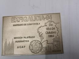 Médaille, Medalha Exfigalicia 94 Santiago De Compostele - Jetons & Médailles