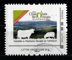 Timbre Personnalisé : Pays Charolais - Brionnais. - France