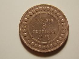 Tunisia 5 Centimes 1916 A - Tunisie