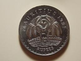 Mauritius 5 Rupees 1987 Varnished - Maurice