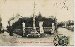 6061 - Savoie - CHAMBERY :  Haut Maché - Croix Des Brigands En 1906 (quartier Hopital De Chambéry TOTALEMENT Disparu ) - Chambery