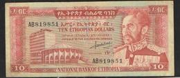 ЭФИОПИЯ  10 $   1966 - Ethiopie