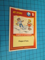 """1501-1525 : TRADING CARD 1991 JEU """"CANAILLES"""" PANINI : JET D'EAU FLAQUE D'EAU - Other"""