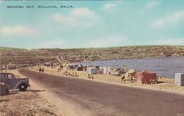 CARTOLINA - POSTCARD - MALTA - GHADIRA BAY, MELLIEHA MALTA - Malta