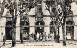 CPA  -  BAYONNE  (64)    Hopital  Militaire  (intérieur) - Bayonne