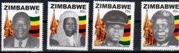 ZIMBABWE, 2018, MNH, HEROES, 4v - History