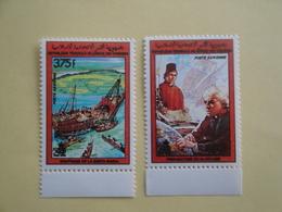 1988 Comores Yv  PA253/4 ** MNH Colomb Bateaux Ships  Cote 9.00 € Michel 836 / 837 - Comores (1975-...)