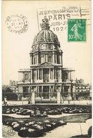 O.MEC. FLIER PARIS XVI PL CHOPIN JEUX OLYMPIQUES PARIS 1924 SUR CPA HOTEL DES INVALIDES - Summer 1924: Paris