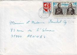 TP N° 1774 Et 1468 Sur Enveloppe De Corbeil-Essonne - Postmark Collection (Covers)