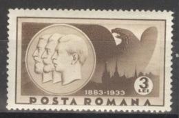 Rumänien 463 ** Postfrisch - 1918-1948 Ferdinand, Carol II. & Mihai I.