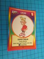 """1501-1525 : TRADING CARD 1991 JEU """"CANAILLES"""" PANINI / LUCAS - SUPER TIREUR - Trading Cards"""