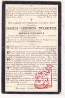 DP Schepen Carolus L. Zwaenepoel ° Mannekensvere Middelkerke 1843 † 1902 X Sophia Pauwels - Images Religieuses