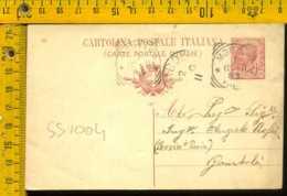 Regno Leoni Cartolina Intero Postale Mortara Per Gambolò Pavia - 1878-00 Umberto I
