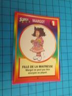 "1501-1525 : TRADING CARD 1991 JEU ""CANAILLES"" PANINI / MARGOT - FILLE DE LA MAITRESSE - Trading Cards"