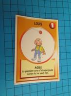 "1501-1525 : TRADING CARD 1991 JEU ""CANAILLES"" PANINI / LOUIS - AGILE - Trading Cards"