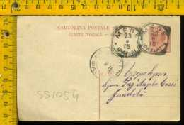 Regno Leoni Cartolina Intero Postale Mede Per Gambolò Pavia - 1878-00 Umberto I