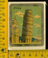 Originale Souvenir Decalcomania D' Epoca Pisa Città - Pisa