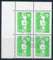 France - Marianne Du Bicentenaire (Briat) 2,00 Vert Clair YT 2621 Obl. - 1989-96 Marianne Du Bicentenaire