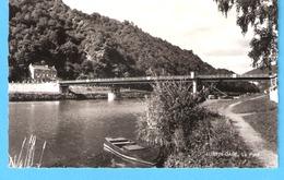 Lustin-Gare (Profondeville)-1966-Le Pont Sur La Meuse-Péniche-Barque De Pêcheur-Edit.Maison Dethiège, Rivière - Profondeville