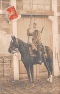 39 - Dole - Carte Photo - Un Hussard à Cheval - Dole