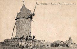 1379-2019       ST PASTOUR   MOULIN DU TUQUET ET VUE PERSPECTIVE - France