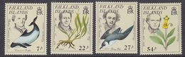 Falkland Islands 1985 Early Naturalists 4v ** Mnh (41753) - Falklandeilanden