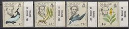 "Falkland Islands 1985 Early Naturalists 4v (""House Of Questa"" In Margin)** Mnh (41753A) - Falklandeilanden"