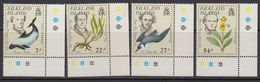Falkland Islands 1985 Early Naturalists 4v (corners) ** Mnh (41753B) - Falklandeilanden