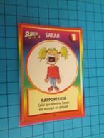 """1501-1525 : TRADING CARD 1991 JEU """"CANAILLES"""" PANINI / SARAH - RAPPORTEUSE - Trading Cards"""