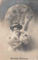 1911- Gelukkg Nieuwjaar.---scan - Año Nuevo