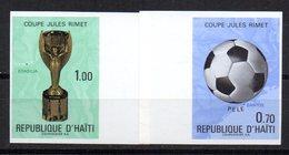 Sellos Nº 702/3 Sin Dentar Haiti - Haití