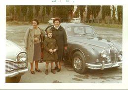 "2285 "" JAGUAR MK II - FIAT 600,FIAT 500 E ALTRA VETTURA-GENNAIO 1962 "" FOTO ORIGINALE - Automobili"