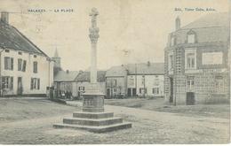 HALANZY : La Place - RARE CPA - Cachet De La Poste 1909 - Aubange