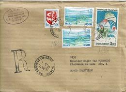 TP N° 1794 Et 1863 En Paire Sur Enveloppe  De Granville - 1961-....