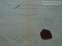 ZA179.9 Old Document- Austria  Burgenland - Csáva  Stoob, Štuma - Florian STURM  1871 - Naissance & Baptême