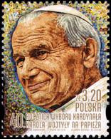 Poland 2018 Fi 4874 Mi 5024 40th Anniversary Of The Election Of Cardinal Karol Wojtyła As Pope - 1944-.... República
