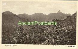 256 Sao Tome And Principe - S. Tomé O Pico Zagaia - Edição De Jose Pimenta, Lda. - Sao Tome Et Principe