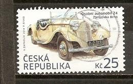 Tchequie Czech Republic 2014 Automobile Car Obl - Czech Republic