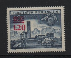 LIECHTENSTEIN N° 271 * (charnière) - Liechtenstein