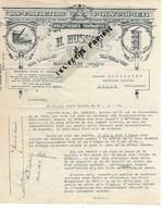 88 - Vosges - BLEVAINCOURT - Facture HUSSON - Appareils à Polycopier - 1930 - REF 275 - Suisse