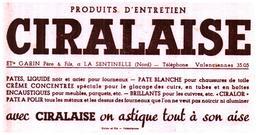 Ci Ci/Buvard Cire Ciralaise (Format 21 X 11) (N= 5) - Vloeipapier