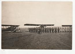 L'ECOLE MILITAIRE DE SAINT CYR - REMISE DE DECORATION (AVIONS EN ARRIERE PLAN) - 1927  - 78 - War, Military
