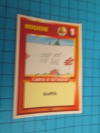 "1526-1550 : TRADING CARD 1991 JEU ""CANAILLES"" PANINI / MOQUERIE - GRAFITTI - Trading Cards"