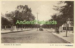 261 Sao Tome And Principe - S. Tomé Avenida 31 De Janeiro - Edição De Jose Pimenta, Lda. - Sao Tome Et Principe