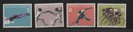 LIECHTENSTEIN N° 327/330 * (charnière)  SPORT - Liechtenstein